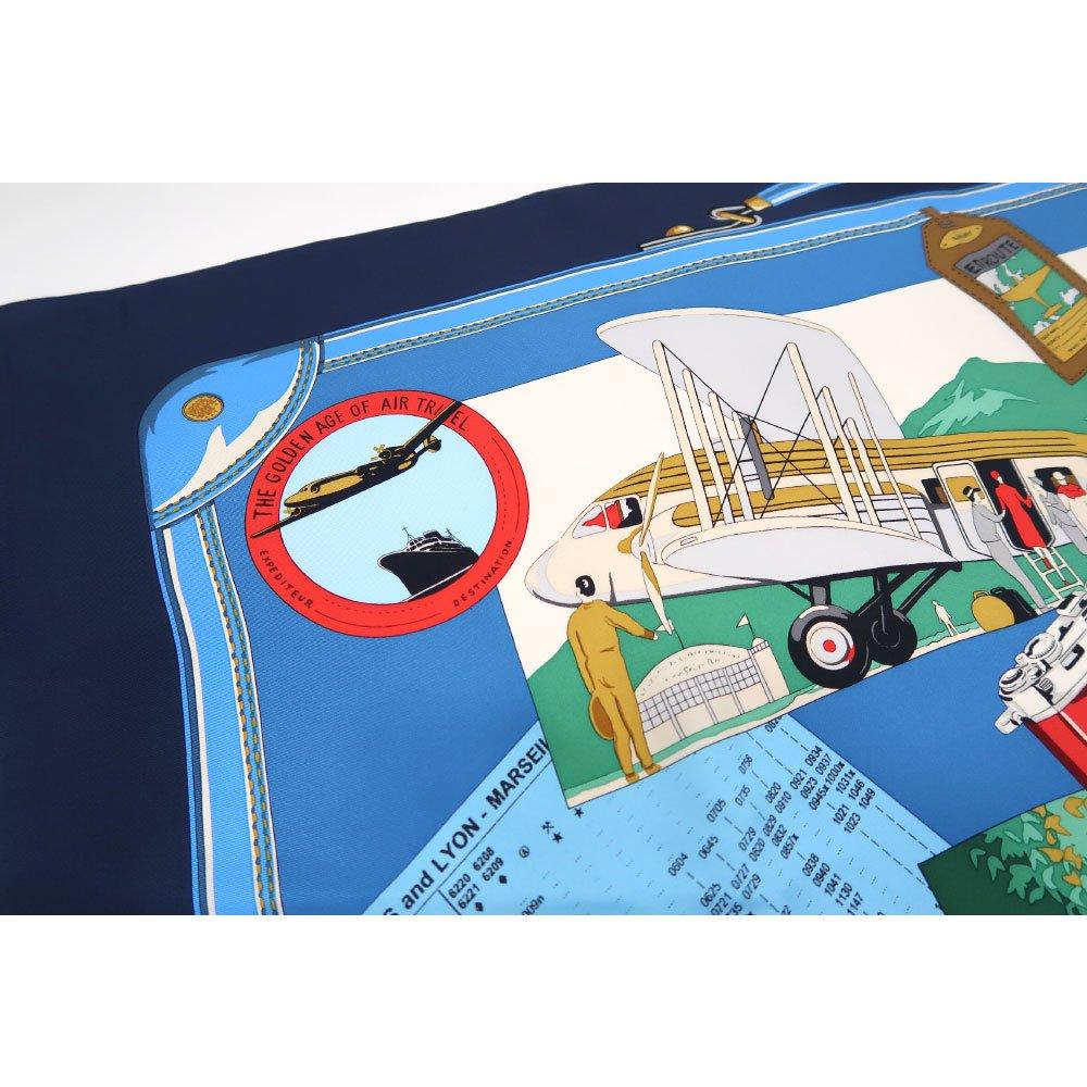 トラベル(CM6-836) 伝統横濱スカーフ 大判 シルクツイル スカーフの画像6