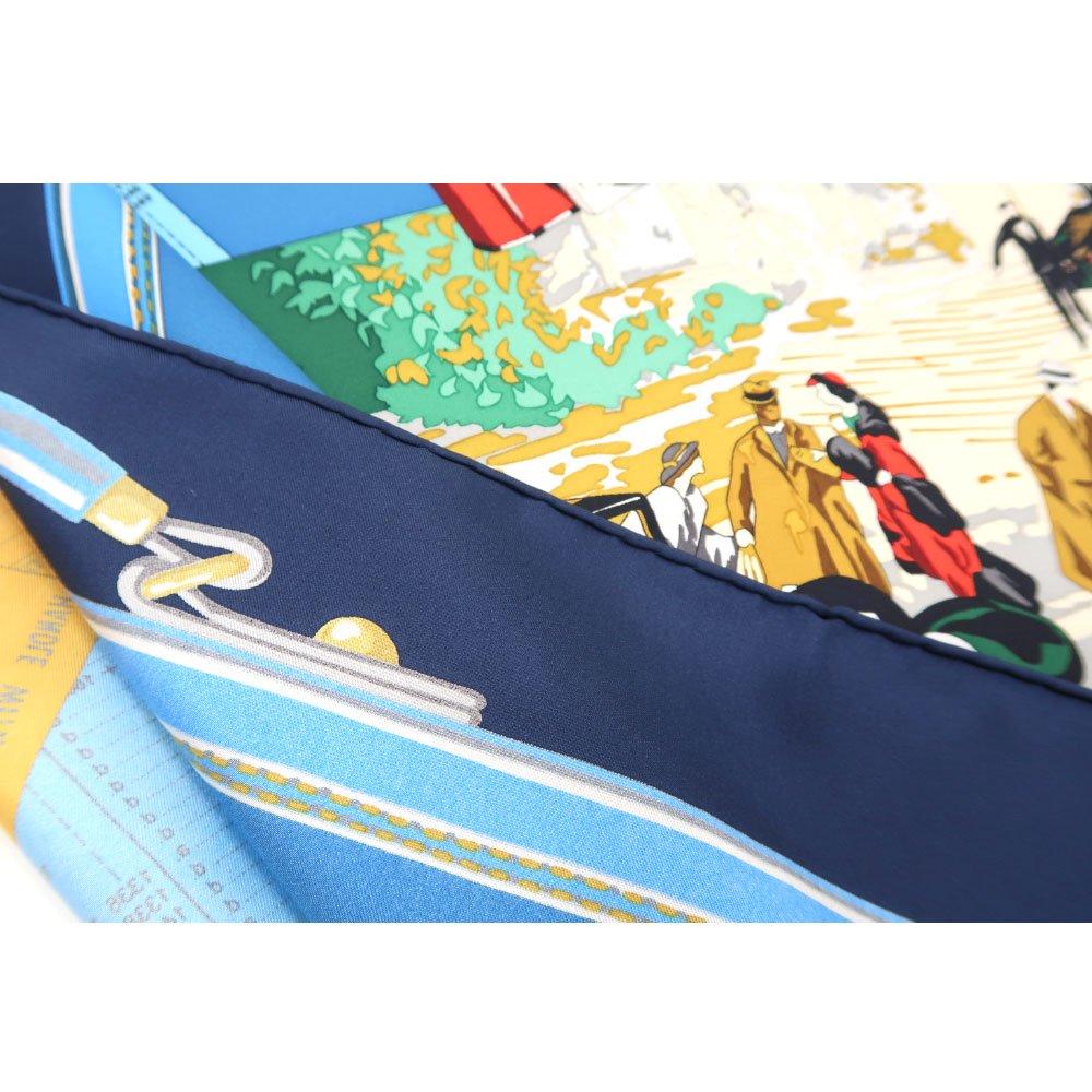 トラベル(CM6-836) 伝統横濱スカーフ 大判 シルクツイル スカーフの画像7