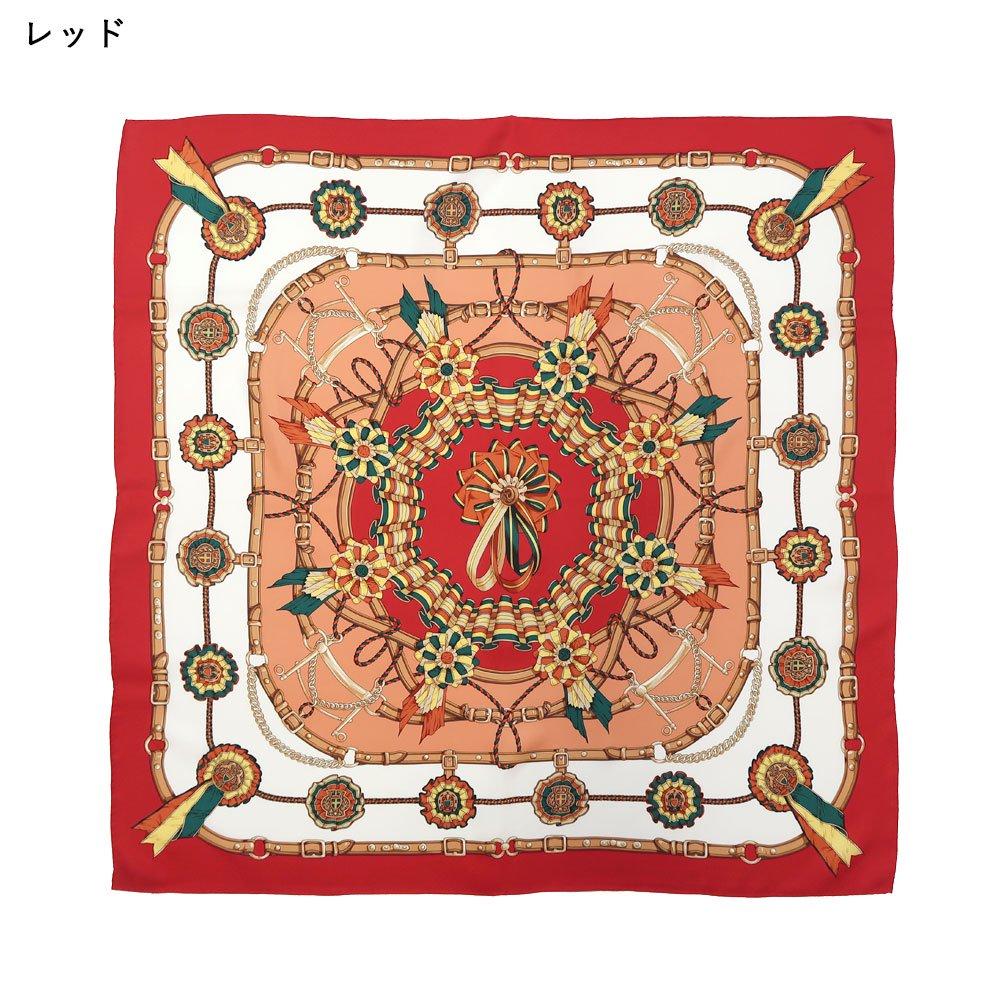 勲章とリボン(CM4-082) Marcaオリジナル 大判 シルクツイル スカーフの画像2