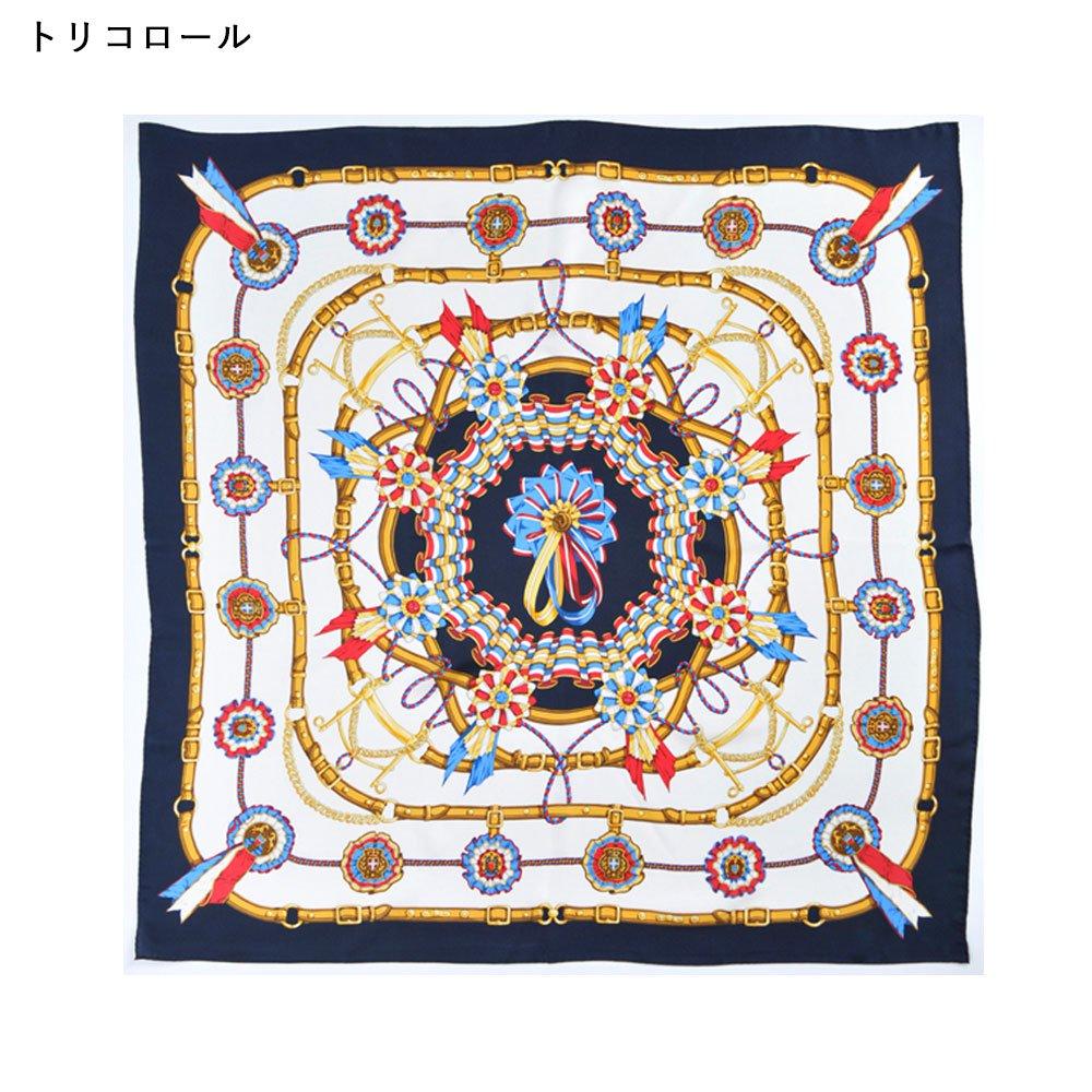 勲章とリボン(CM4-082) Marcaオリジナル 大判 シルクツイル スカーフの画像5