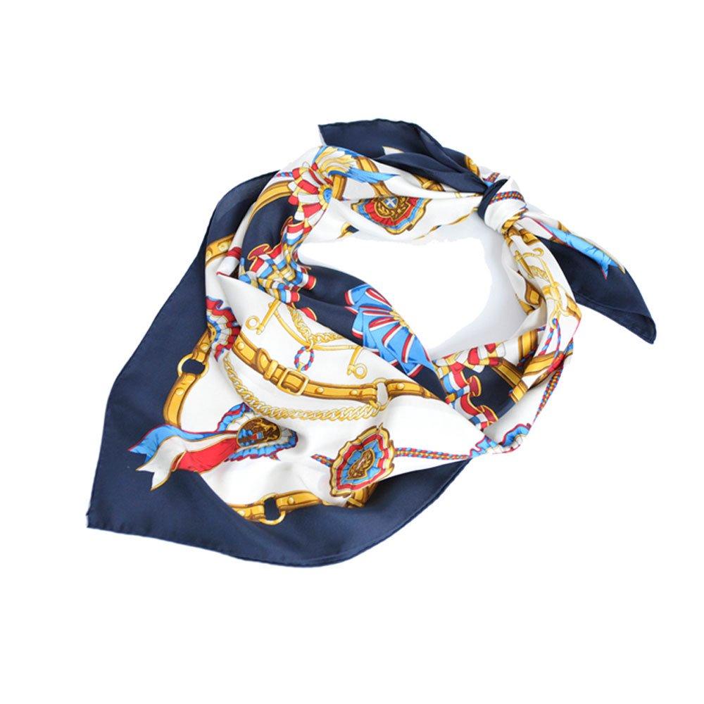 勲章とリボン(CM4-082) Marcaオリジナル 大判 シルクツイル スカーフの画像6