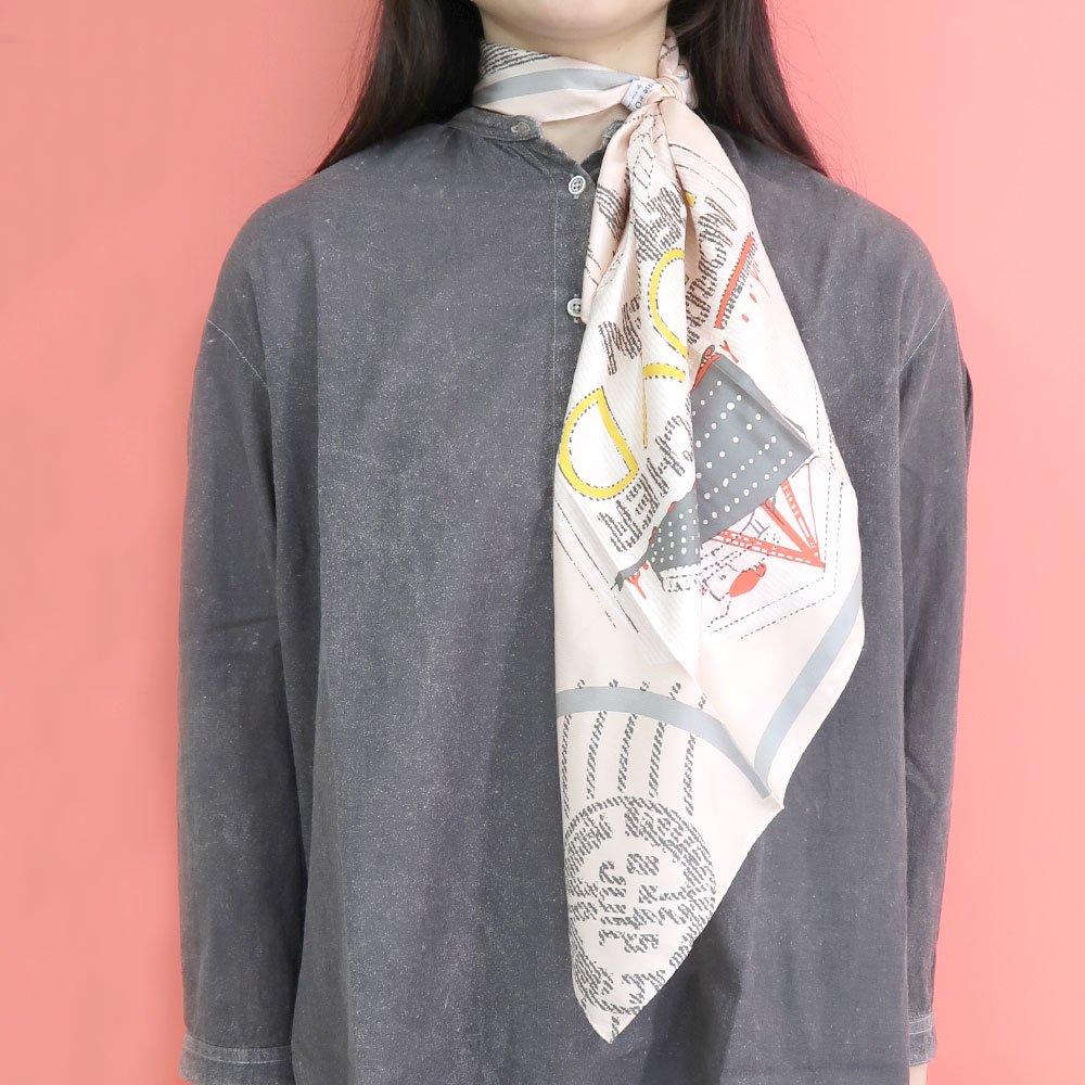 TRAVELER(FMQ-033S) 【the PORT by marca】小判 シルクツイル スカーフの画像8