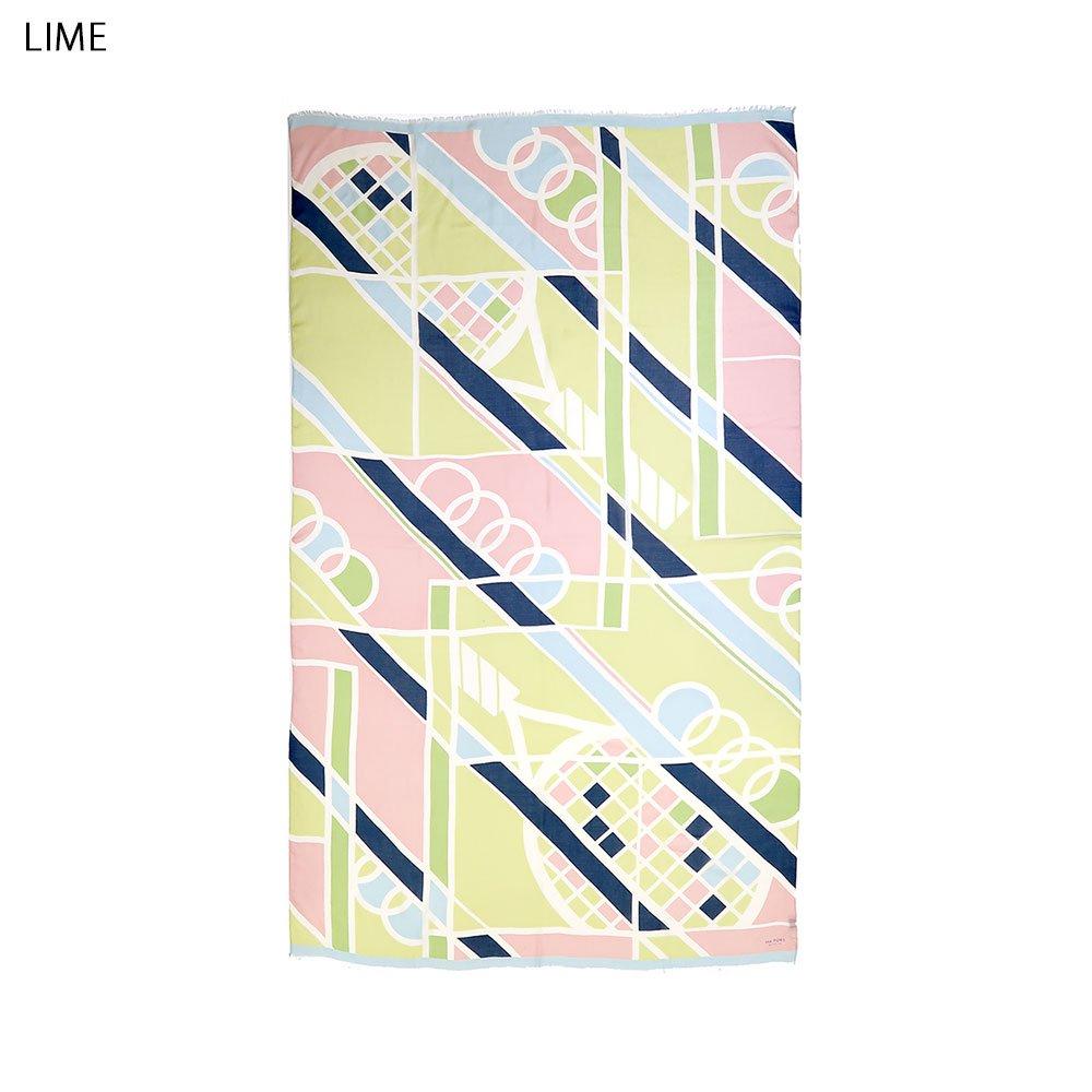 TENNIS(NGO-061) 【the PORT by marca】大判 ストールの画像2