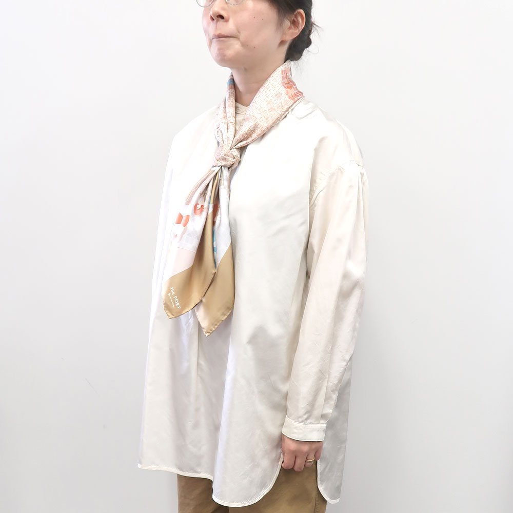 SUMMER VACATION(CMQ-047) 【the PORT by marca】大判 シルクツイル スカーフの画像7