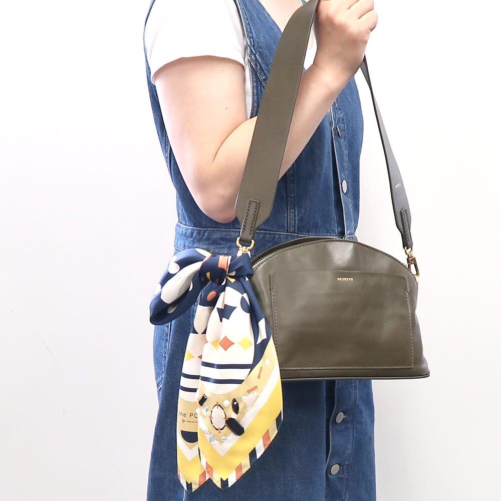 GEM(FGQ-161) 【the PORT by marca】小判 シルクツイル スカーフの画像8