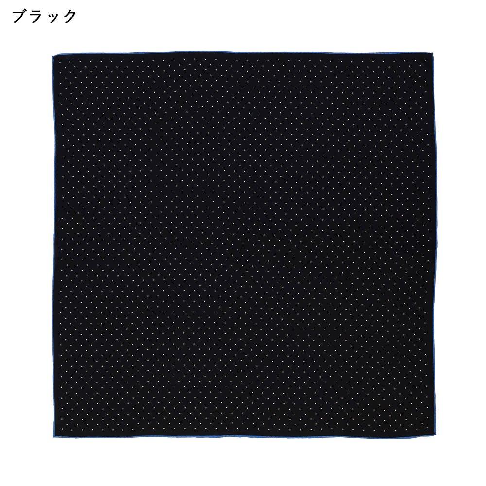 ピンドット(FOR-006) Marcaオリジナル 小判 シルクツイル スカーフの画像2