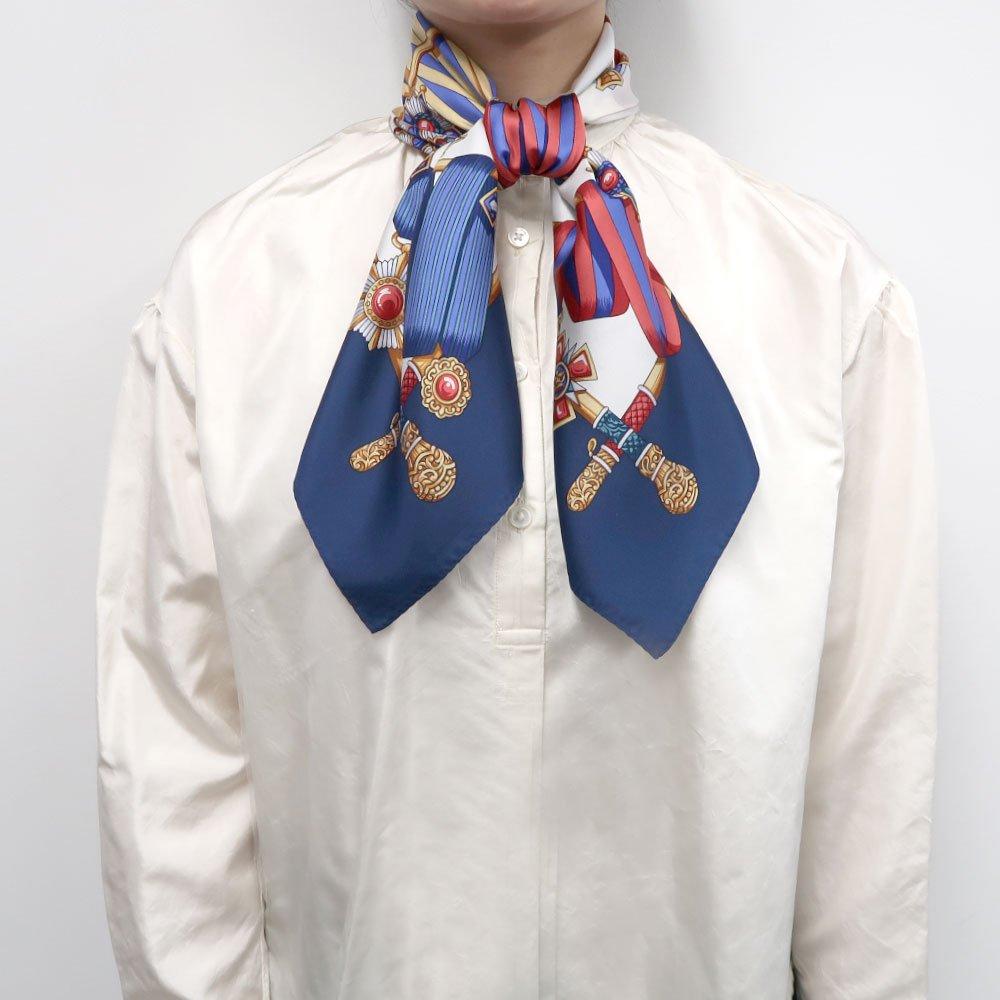 ホースベルト(KM5-028) Marcaオリジナル 小判 シルクツイル スカーフの画像5