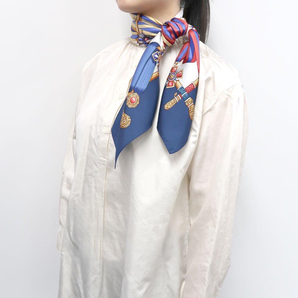 ホースベルト(KM5-028) Marcaオリジナル 小判 シルクツイル スカーフの画像6