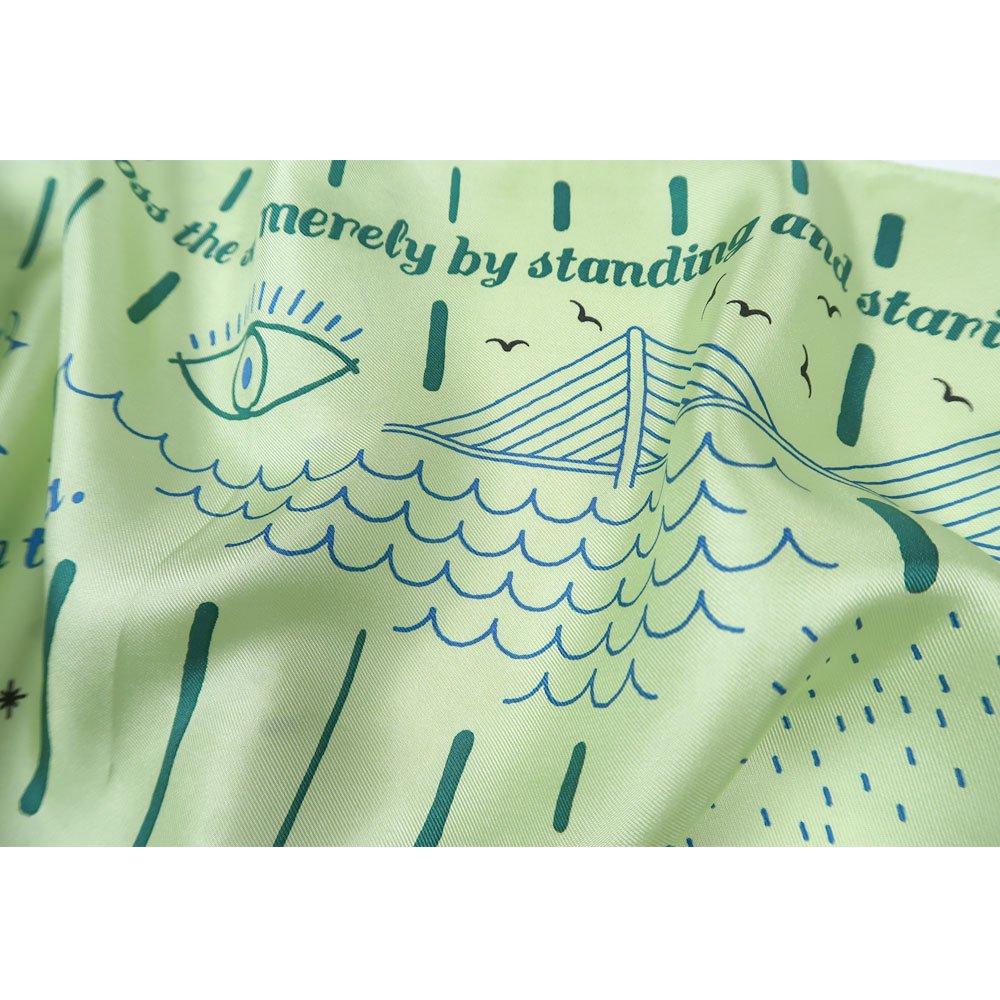 MARINE MESSAGE(FMR‐115) 【the PORT by marca】小判 シルクツイル スカーフの画像2