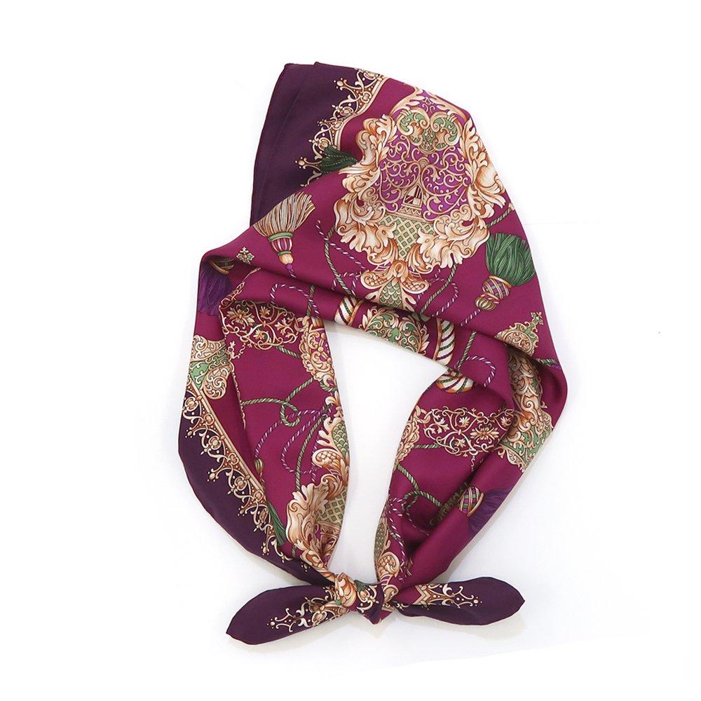 オーナメントタッセル(CM2-462)  Marcaオリジナル 大判 シルクツイル スカーフの画像1