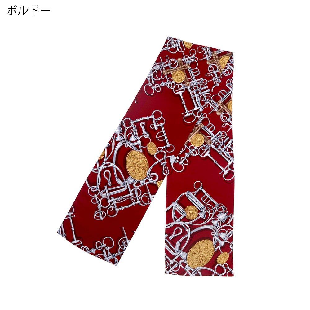 ビットメダル ナロースカーフ(NEN-075) Marcaオリジナル シルクツイル スカーフの画像3