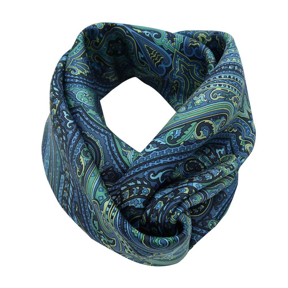 カシミール05(CM3-005) Marcaオリジナル 大判 シルクツイル スカーフ