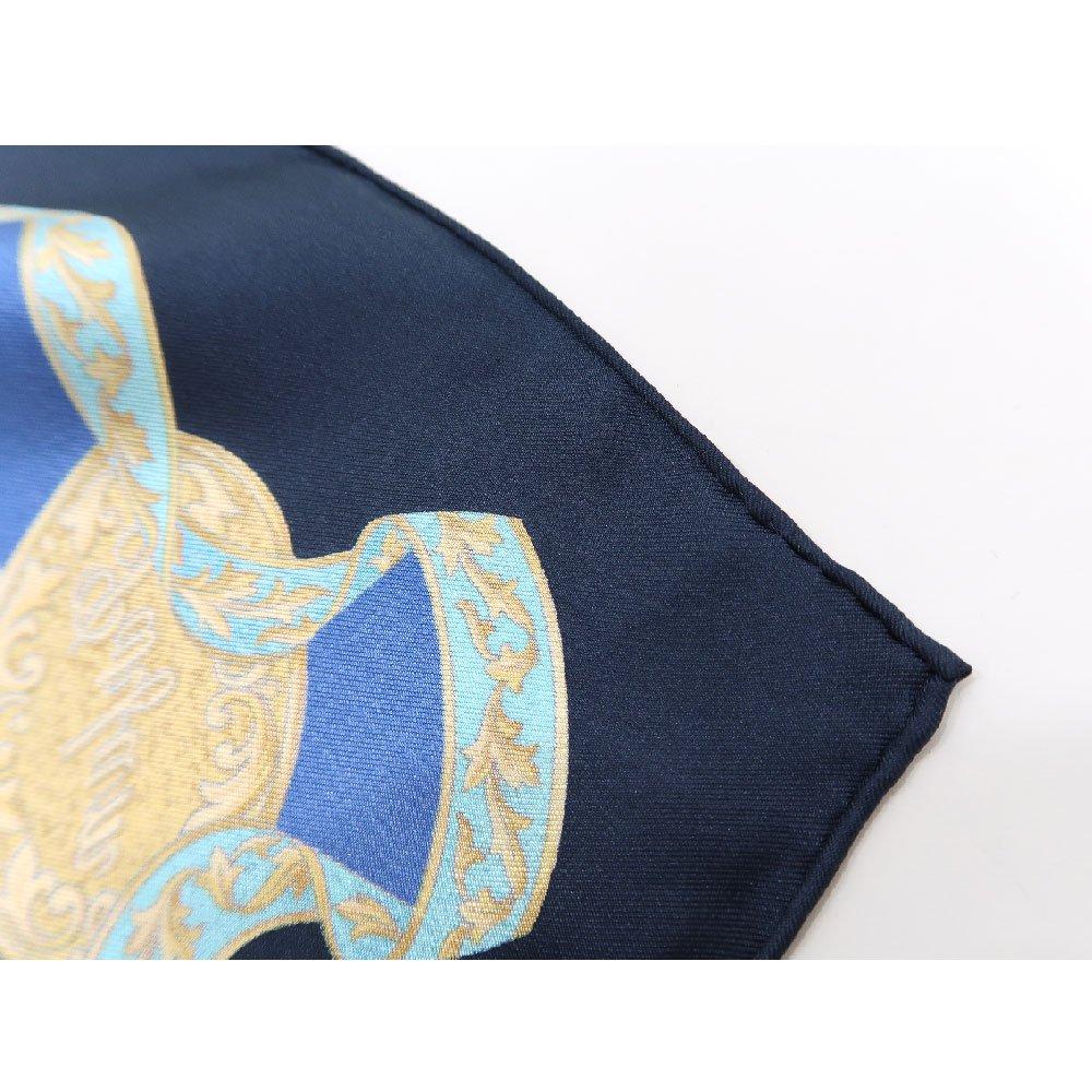 香水瓶 (CM5-329) 伝統横濱スカーフ 大判 シルクツイル スカーフの画像7