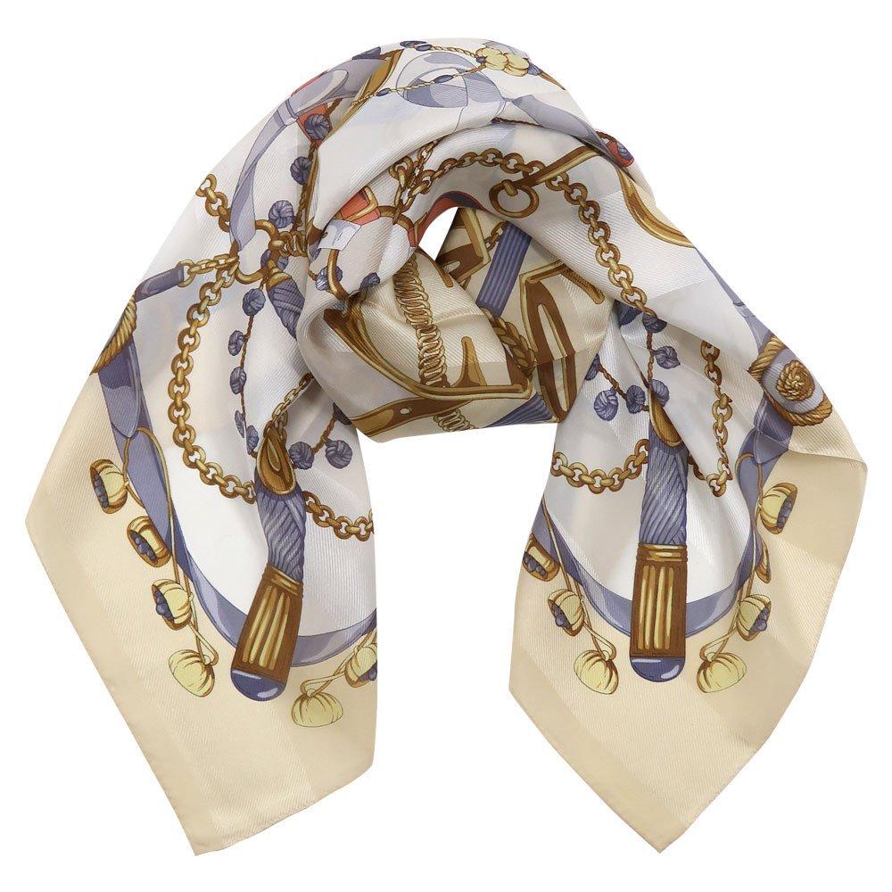 面割ステッキ&ベルト(CM5-806) Marcaオリジナル 大判 サテンストライプ スカーフ