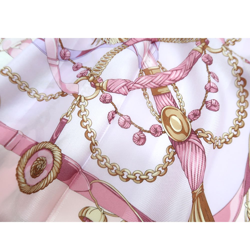 面割ステッキ&ベルト(CM5-806) Marcaオリジナル 大判 サテンストライプ スカーフの画像10