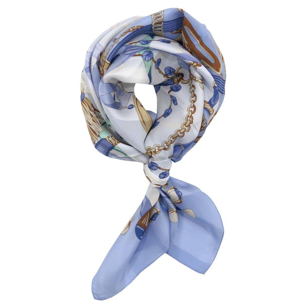 面割ステッキ&ベルト(CM5-806) Marcaオリジナル 大判 サテンストライプ スカーフの画像13