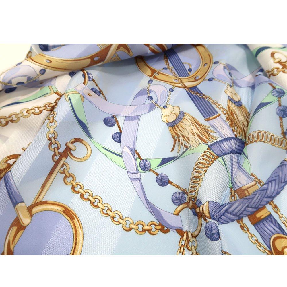 面割ステッキ&ベルト(CM5-806) Marcaオリジナル 大判 サテンストライプ スカーフの画像15