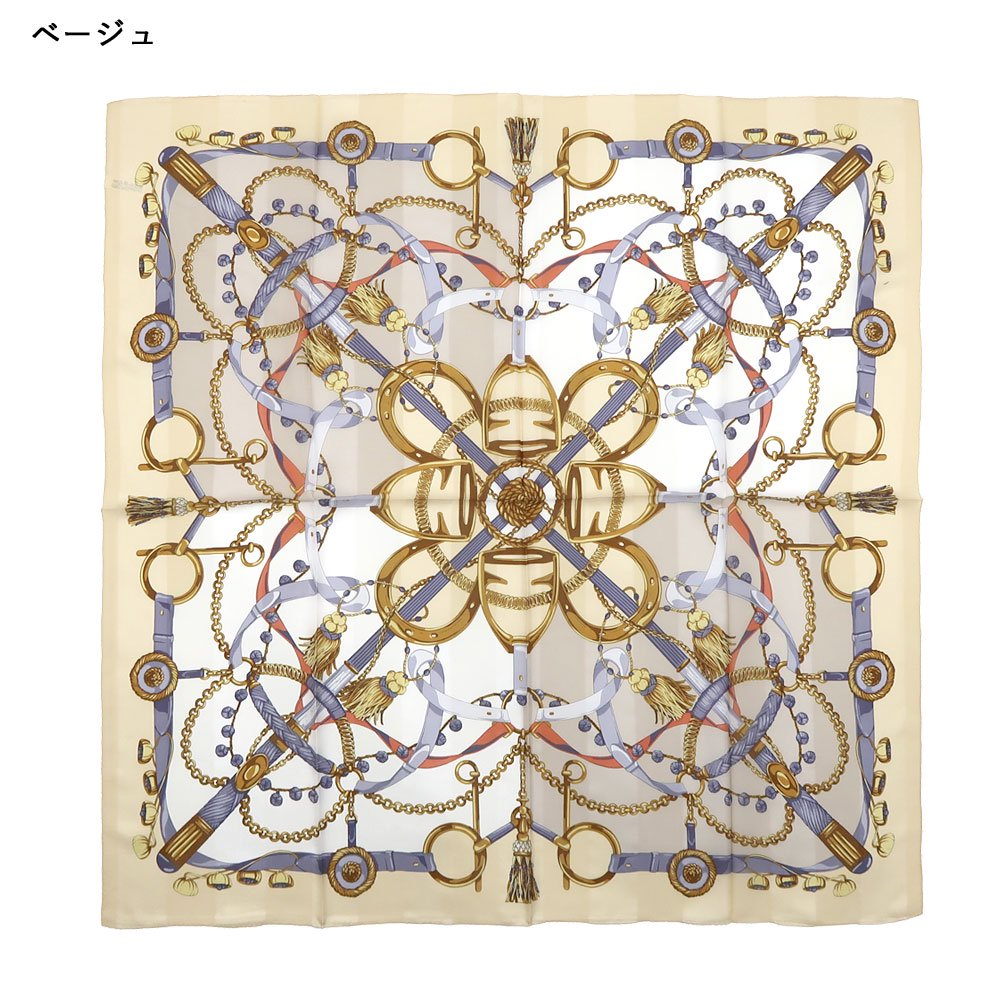 面割ステッキ&ベルト(CM5-806) Marcaオリジナル 大判 サテンストライプ スカーフの画像2