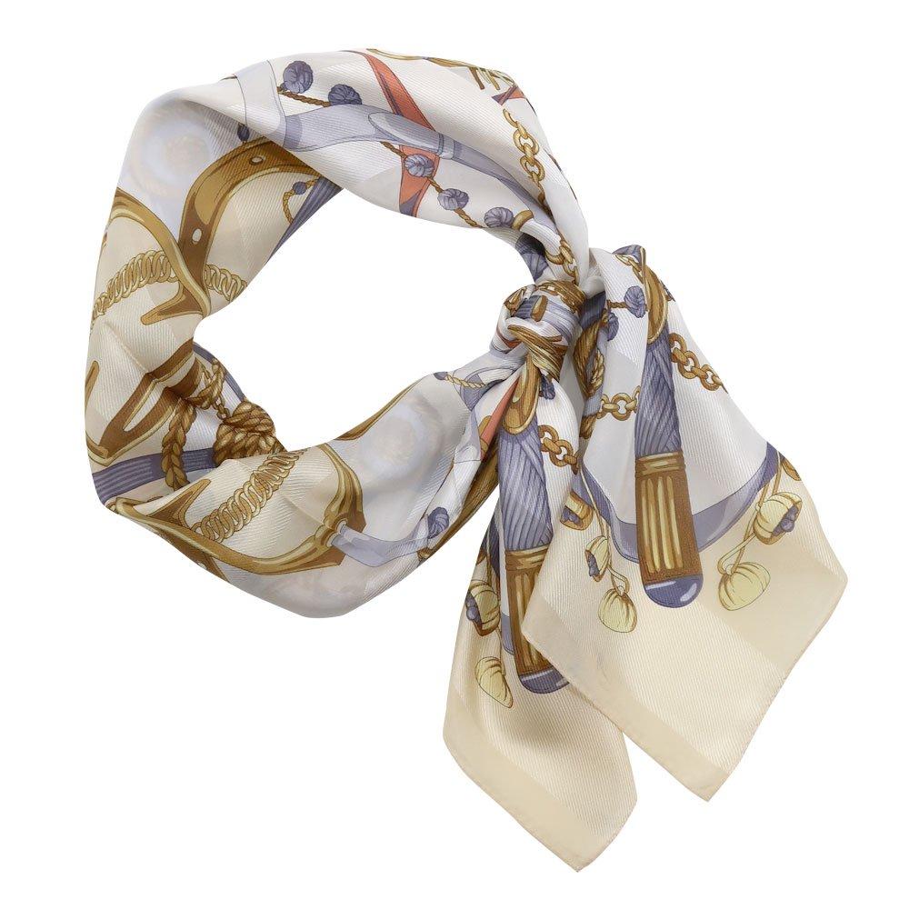 面割ステッキ&ベルト(CM5-806) Marcaオリジナル 大判 サテンストライプ スカーフの画像3