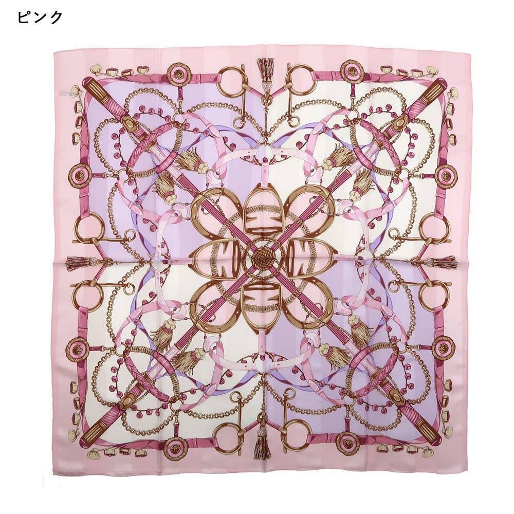 面割ステッキ&ベルト(CM5-806) Marcaオリジナル 大判 サテンストライプ スカーフの画像6
