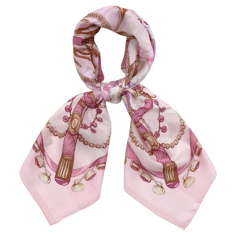 面割ステッキ&ベルト(CM5-806) Marcaオリジナル 大判 サテンストライプ スカーフの画像8