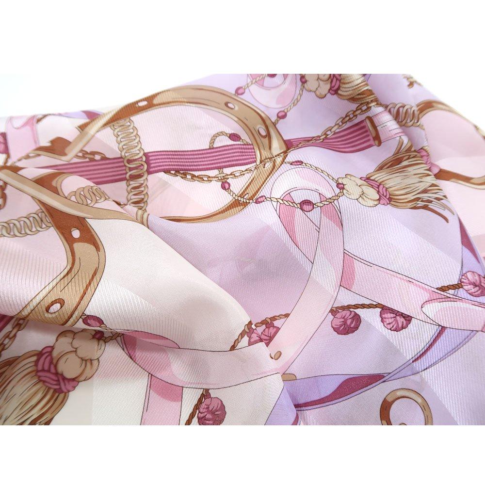 面割ステッキ&ベルト(CM5-806) Marcaオリジナル 大判 サテンストライプ スカーフの画像9