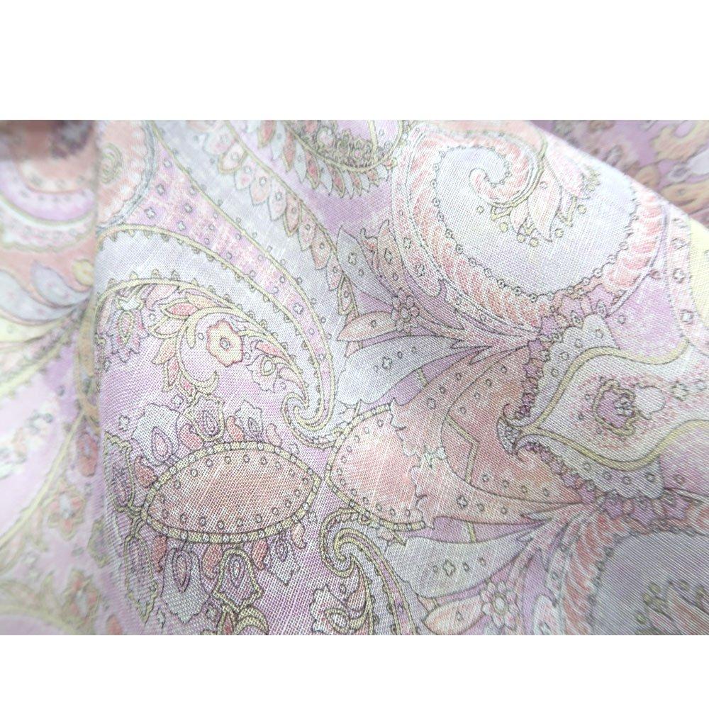 細密ペルシャ(IPC-139) Marcaオリジナル 大判 レーヨン麻 スカーフの画像2