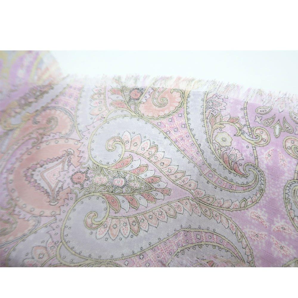 細密ペルシャ(IPC-139) Marcaオリジナル 大判 レーヨン麻 スカーフの画像3
