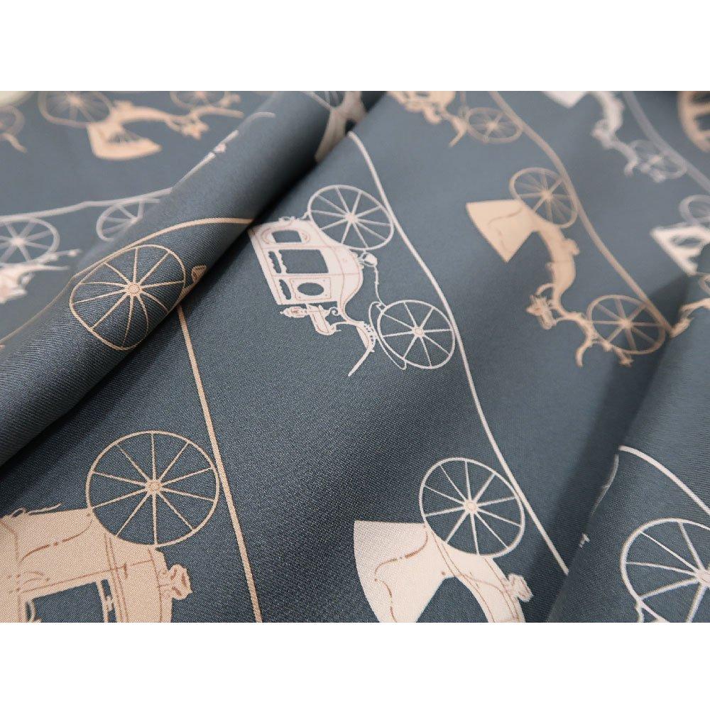 馬車道 (CEE-018K) 伝統横濱スカーフ 大判 シルクツイル スカーフの画像4