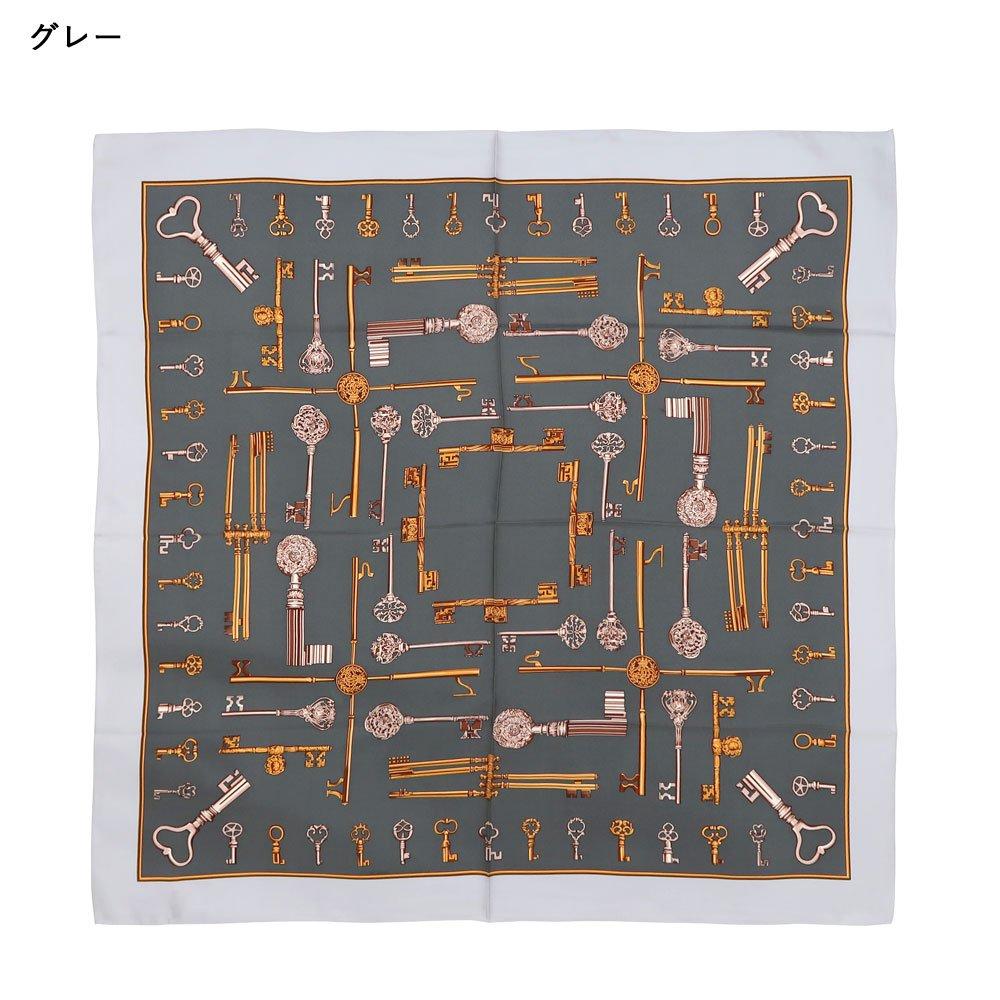 ディスプレイキー (CE0-502K) Marcaオリジナル 大判 シルクツイル スカーフの画像1