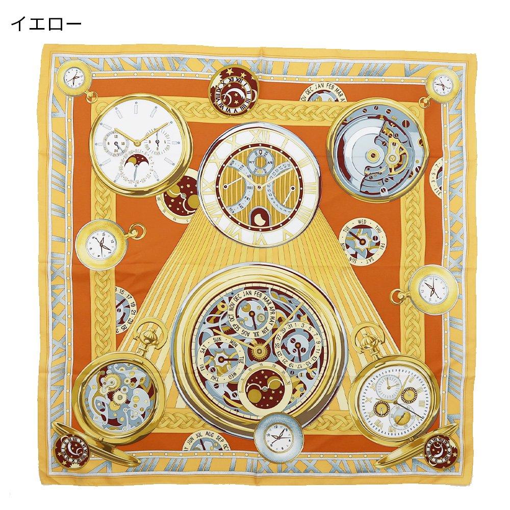 ポケットウォッチ(CM7-007K) Marcaオリジナル 大判 シルクツイル スカーフの画像2
