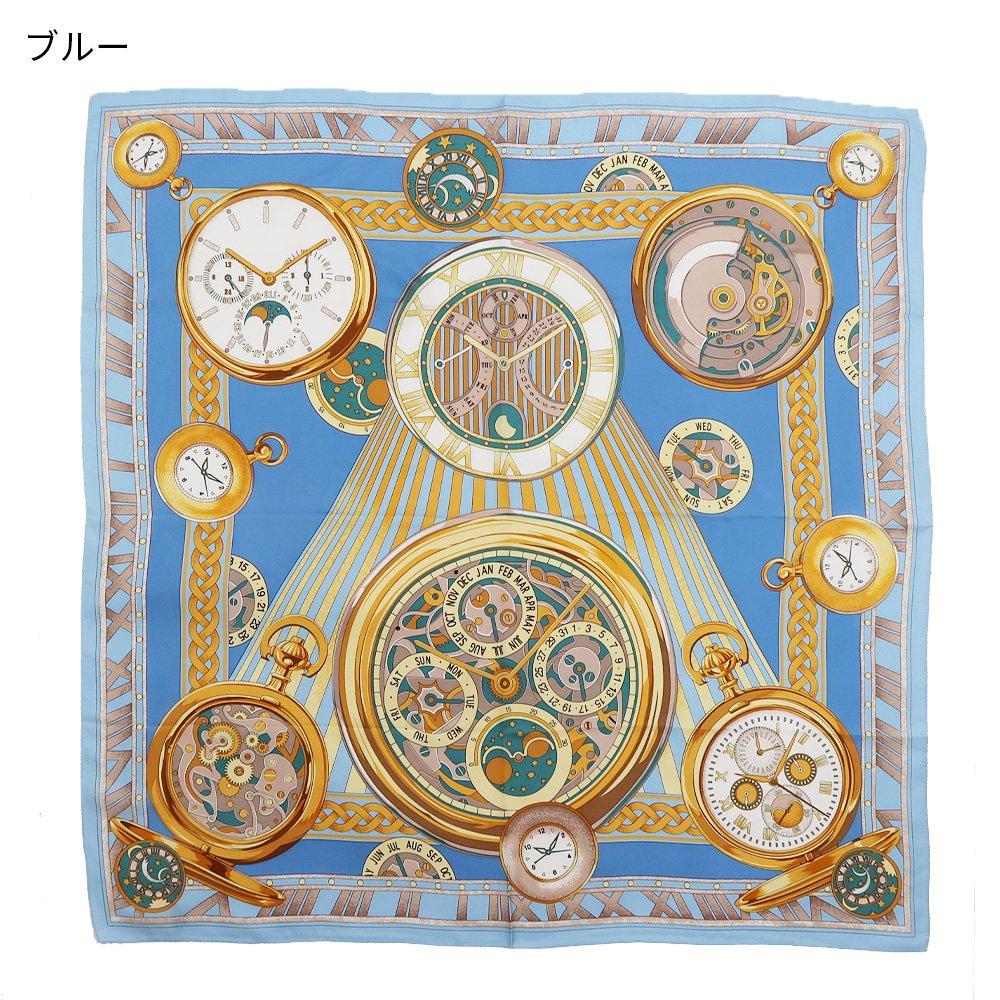 ポケットウォッチ(CM7-007K) Marcaオリジナル 大判 シルクツイル スカーフの画像5