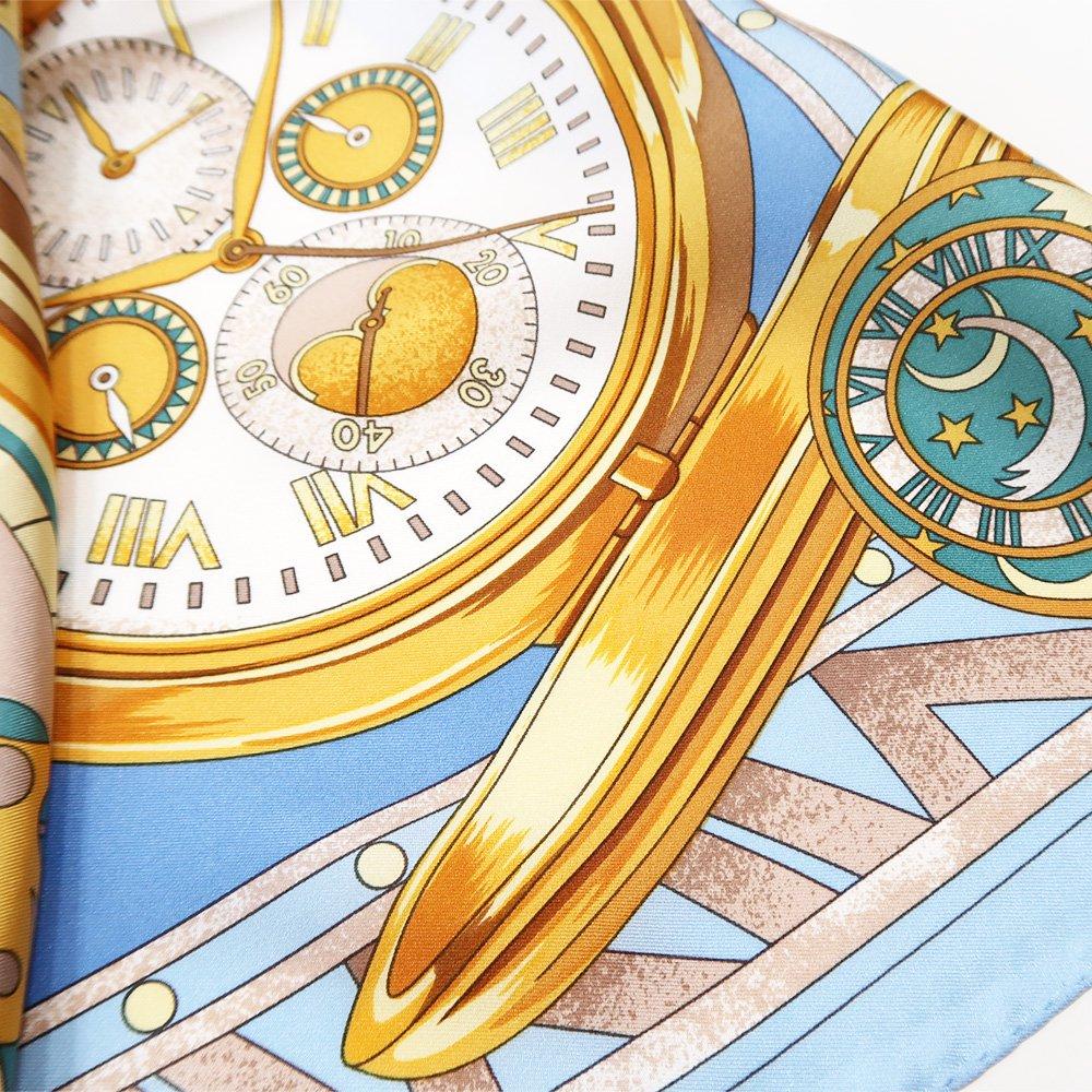 ポケットウォッチ(CM7-007K) Marcaオリジナル 大判 シルクツイル スカーフの画像8
