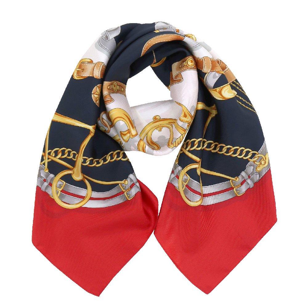 ビットベルト円構図(CE0-413) Marcaオリジナル 大判  シルクツイル スカーフの画像8