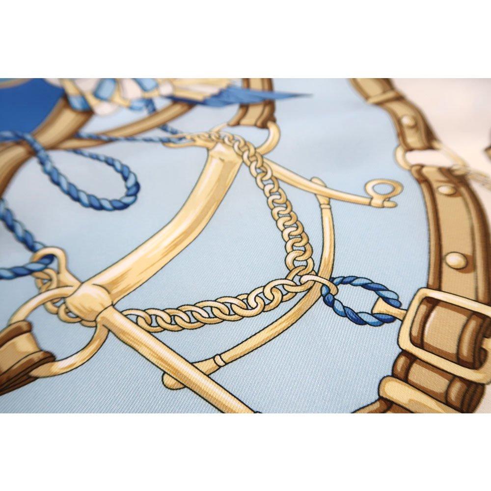 勲章とリボン ロング(CM4-082L) Marcaオリジナル 大判 シルクツイル スカーフの画像4