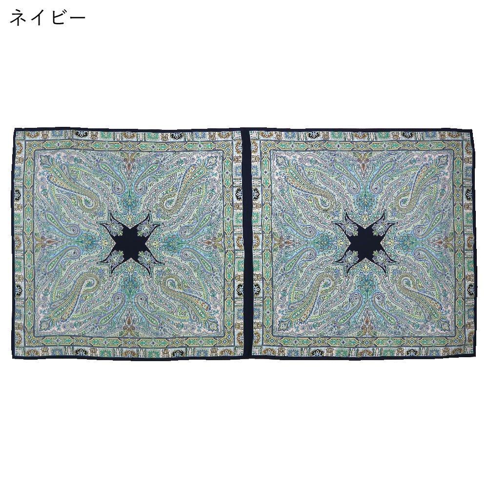 カシミール50 ロング(CM4-650L) Marcaオリジナル 大判 シルクツイル ストールの画像12
