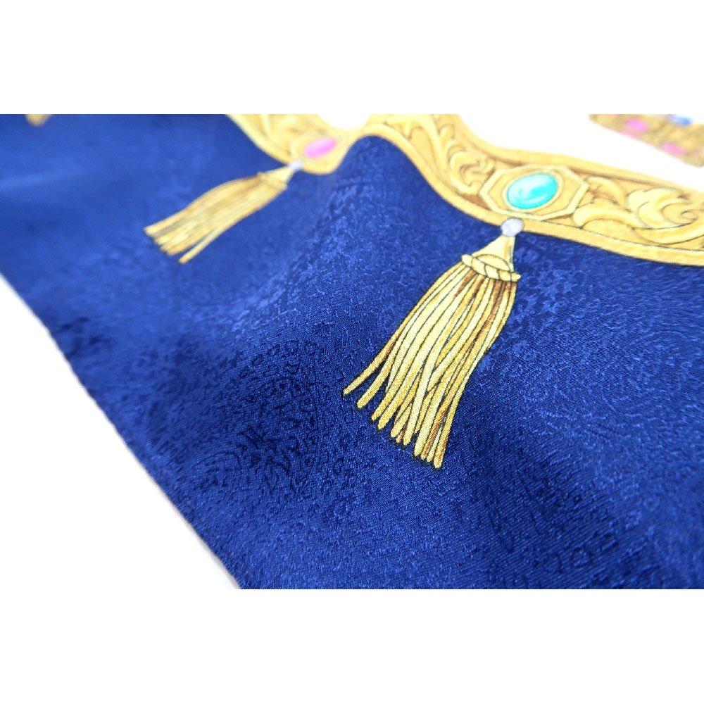 飾り壷(CM4-337) Marcaオリジナル 大判 シルクペイズリージャカード スカーフの画像4