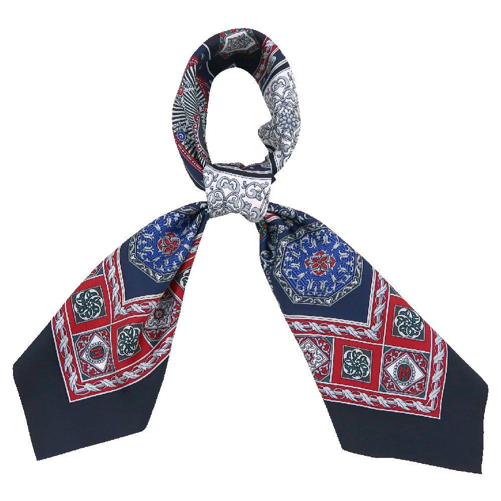 宝石箱 (CM5-415) 伝統横濱スカーフ 大判 シルクツイル スカーフ