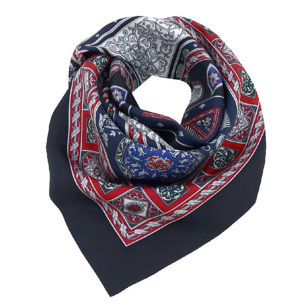 宝石箱 (CM5-415) 伝統横濱スカーフ 大判 シルクツイル スカーフの画像3