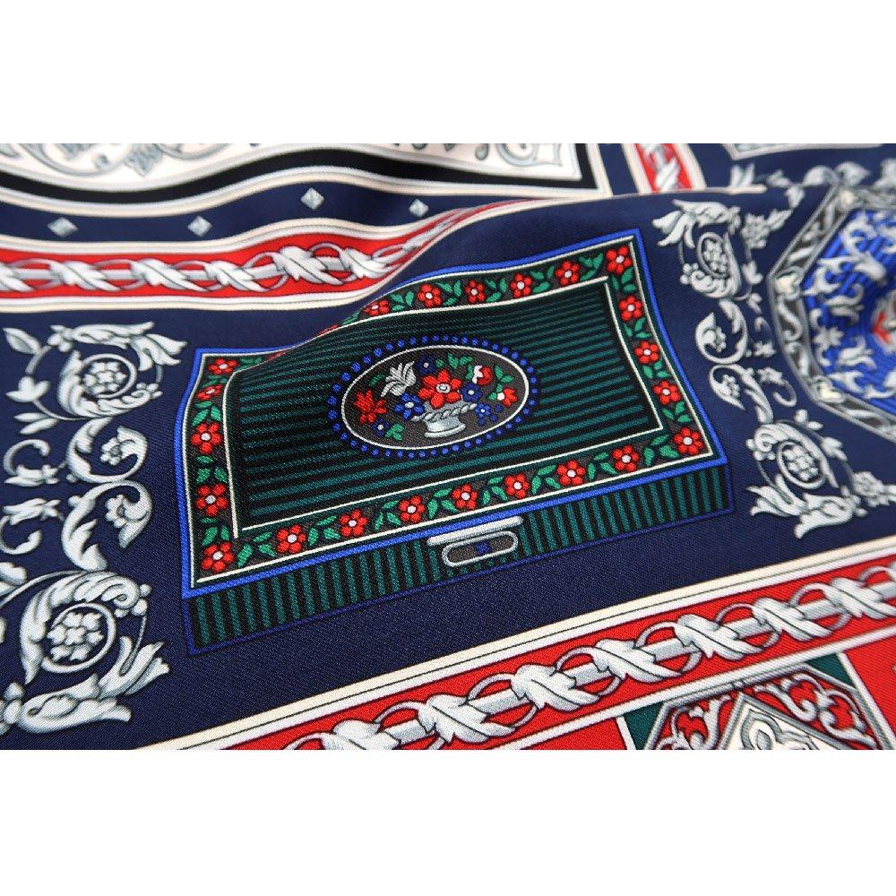 宝石箱 (CM5-415) 伝統横濱スカーフ 大判 シルクツイル スカーフの画像4