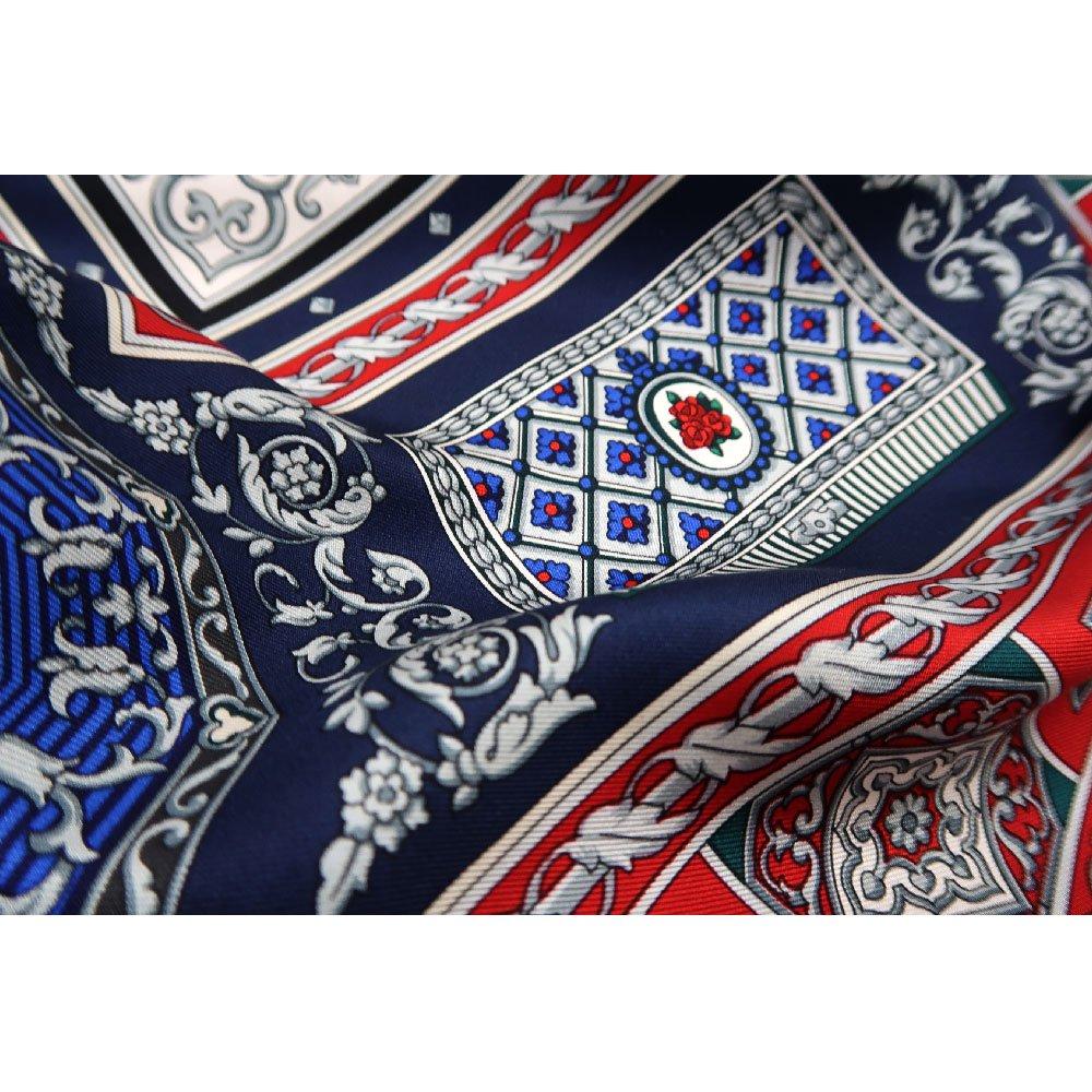 宝石箱 (CM5-415) 伝統横濱スカーフ 大判 シルクツイル スカーフの画像5