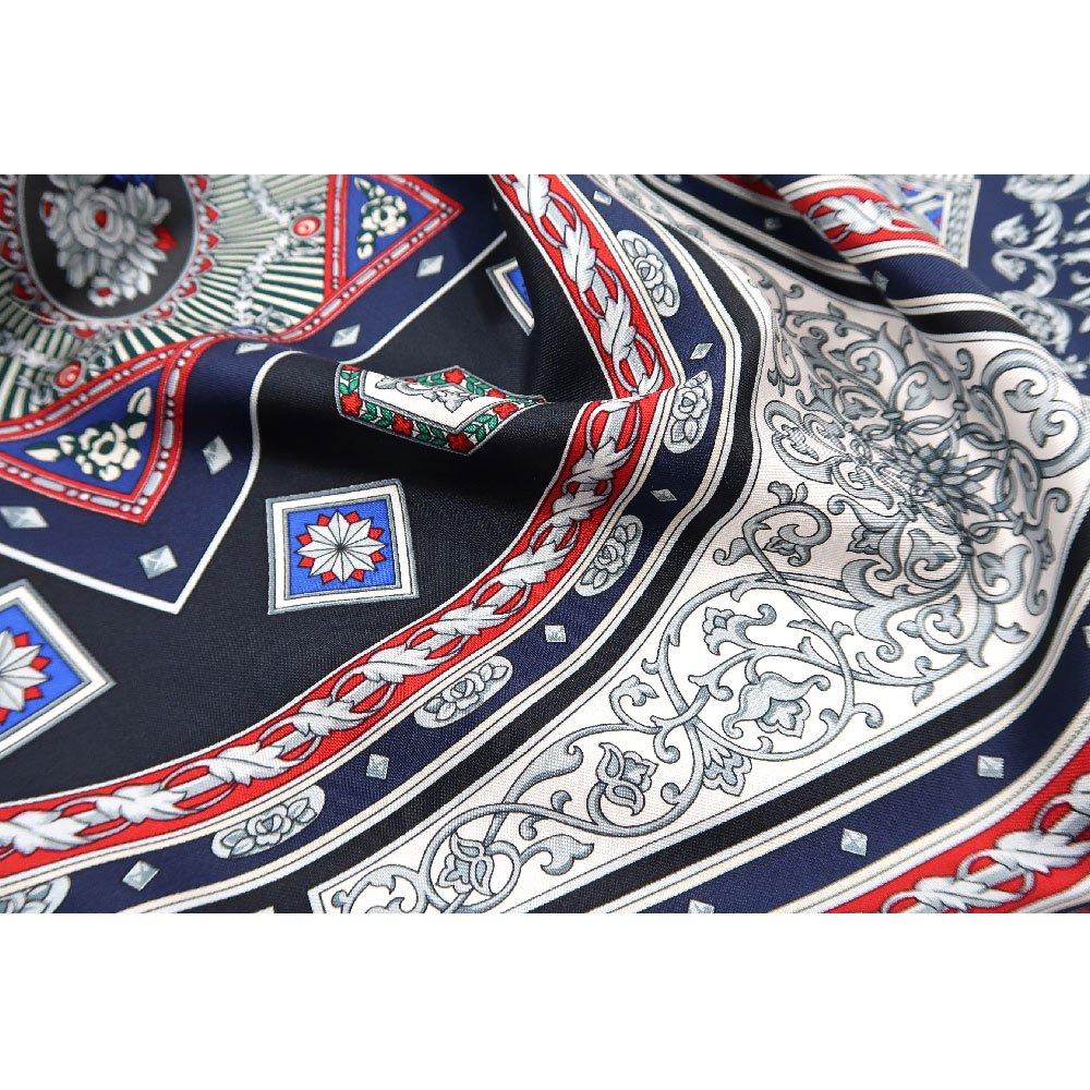 宝石箱 (CM5-415) 伝統横濱スカーフ 大判 シルクツイル スカーフの画像6