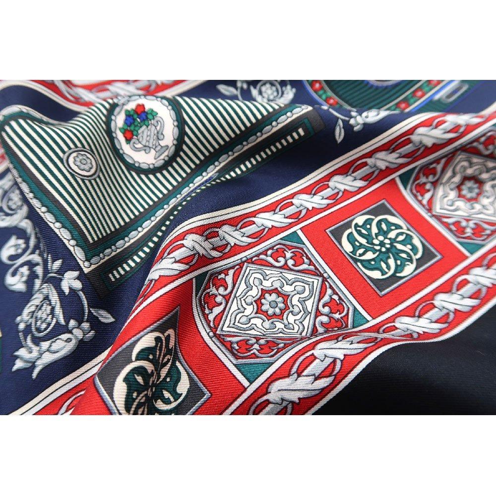 宝石箱 (CM5-415) 伝統横濱スカーフ 大判 シルクツイル スカーフの画像7
