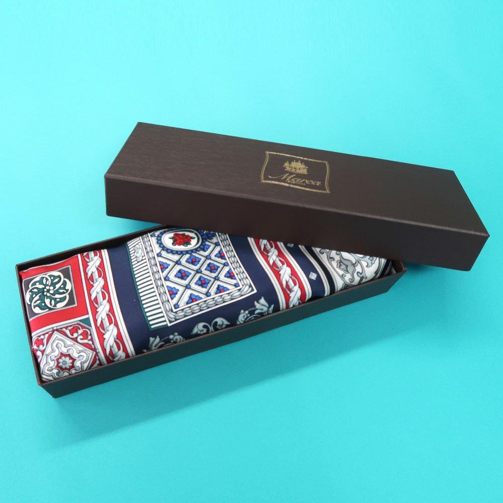 宝石箱 (CM5-415) 伝統横濱スカーフ 大判 シルクツイル スカーフの画像9