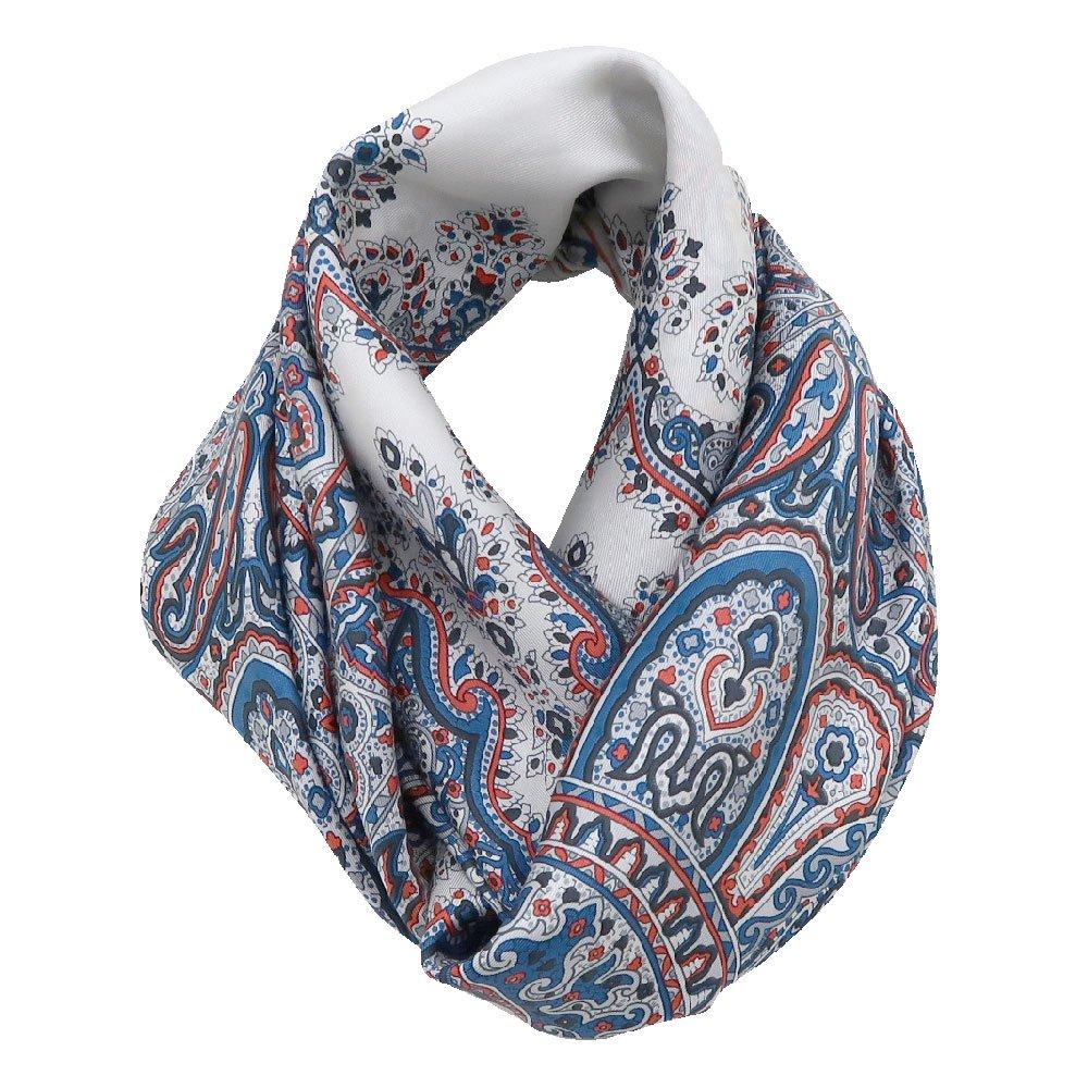 カシミール26(CM4-326) Marcaオリジナル 大判  シルクツイル スカーフの画像10