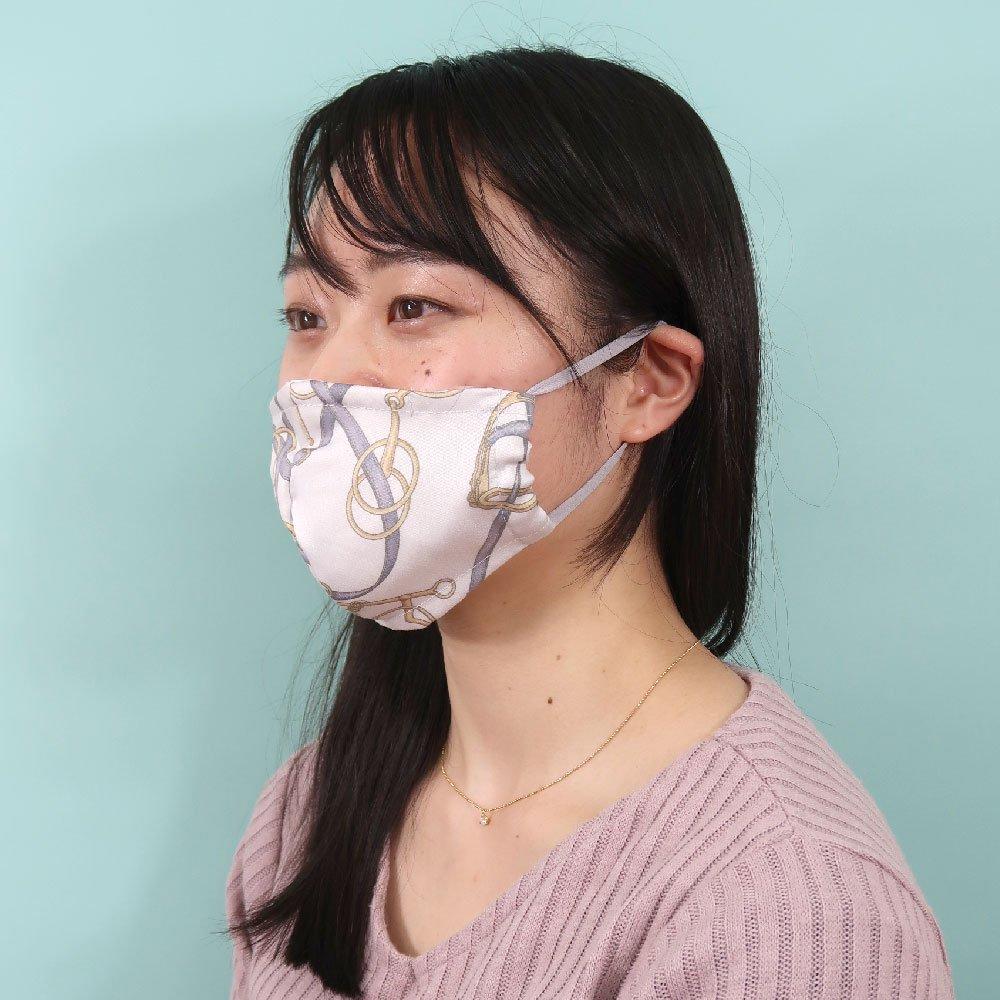 お肌にやさしいプリントマスク(U20-091) EF ビット柄 Marcaオリジナルの画像6