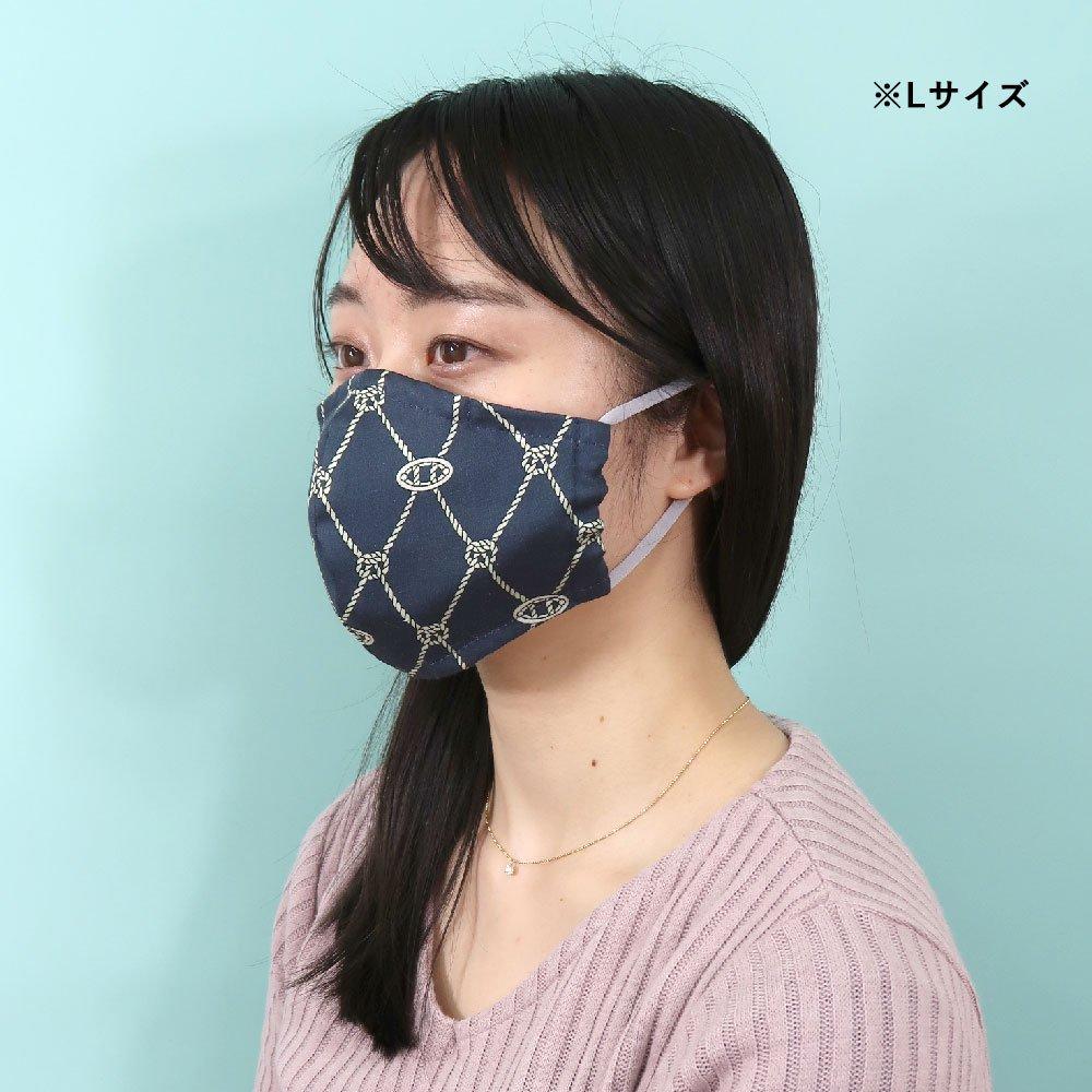お肌にやさしいプリントマスク(U20-091) KL シンプル柄 Marcaオリジナルの画像12