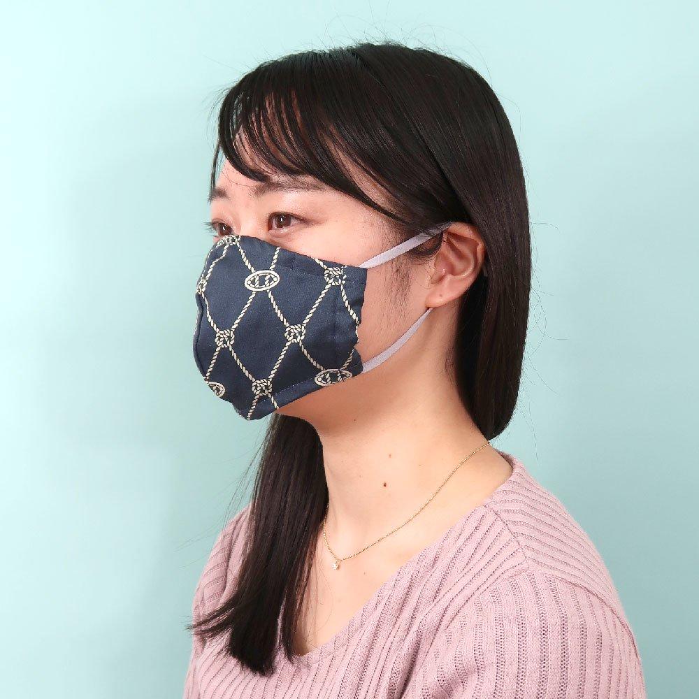 お肌にやさしいプリントマスク(U20-091) KL シンプル柄 Marcaオリジナルの画像6