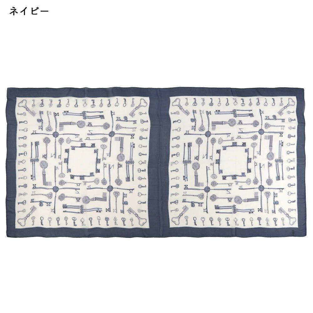 ディスプレイキー(CE0-502L) Marcaオリジナル 大判 シルクローン ストールの画像10