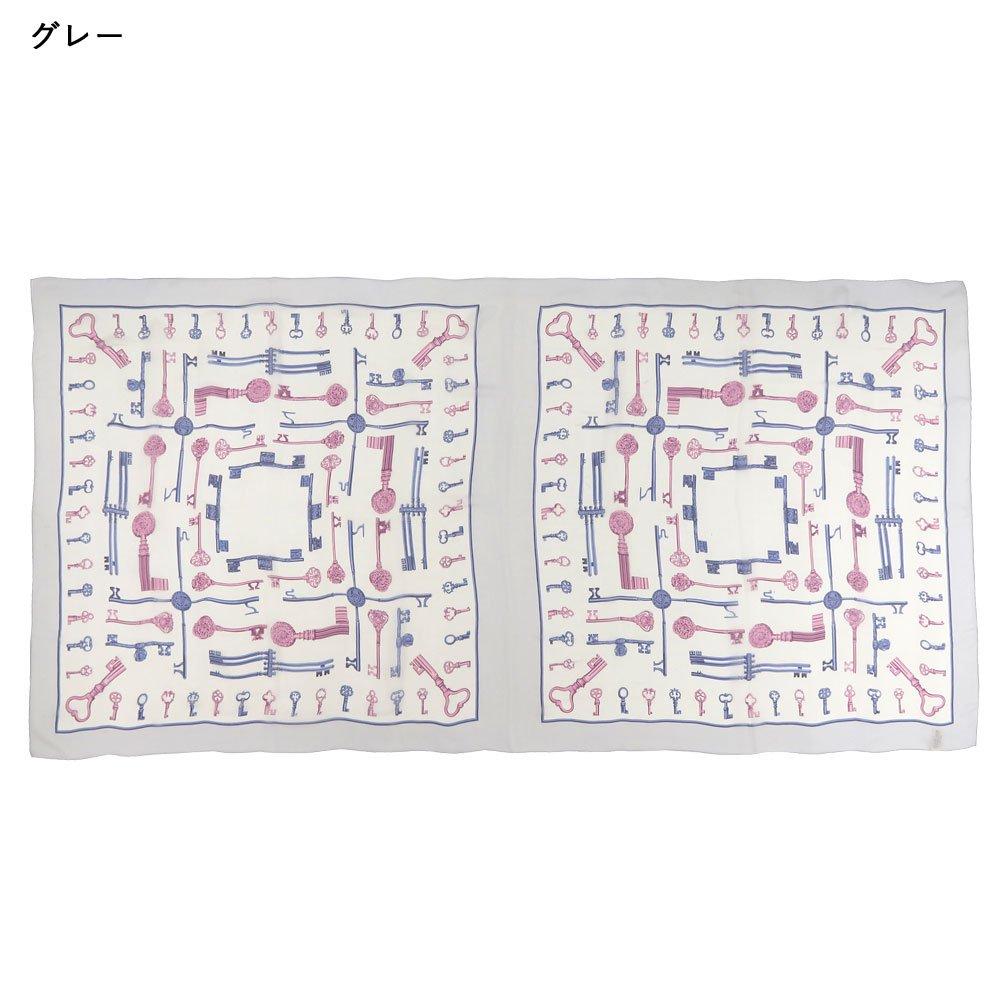 ディスプレイキー(CE0-502L) Marcaオリジナル 大判 シルクローン ストールの画像5